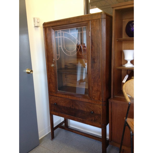 Bassett Furniture Atlanta: Hooker Bassett China Cabinet Circa 1920