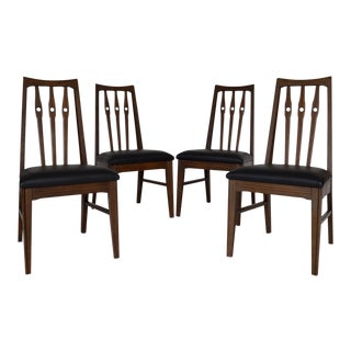 Morris Mid-Century Modern Dining Chairs- Set of 4