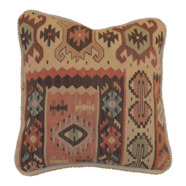 "Turkey ""Kilim"" Pillow - Image 1 of 5"