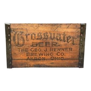 Grossvater Beer Crate - 1920s