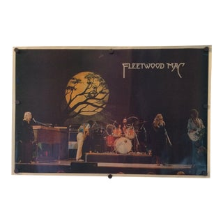 Vintage Fleetwood Mac Poster 1977 Germany Tour