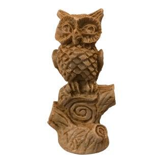 Mid-Century Owl Statuette