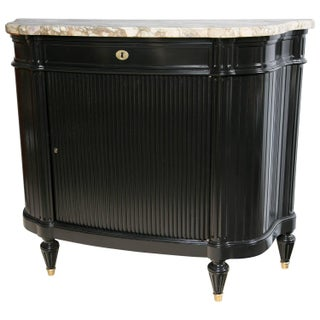 Maison Jansen Ebonized Bronzed Mounted Chest