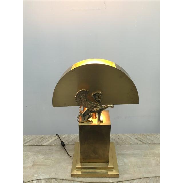 Rare Custom Lamp in the Manner of Karl Springer - Image 4 of 9