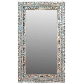 Raja Carved Wood Mirror