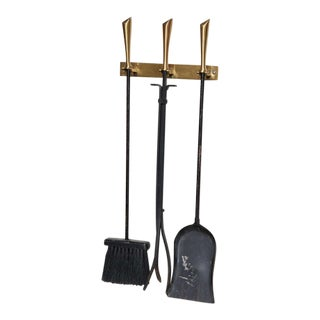 Wall Mounted George Nelson Fireplace Tools