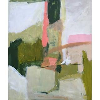 Wake Up April Abstract Painting