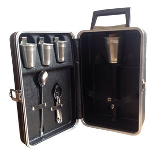 Mid-Century Travel Bar Kit