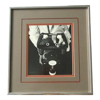 Vintage Optometric Industrial Art Photo