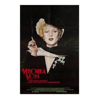 Veronika Voss 1982 USA One Sheet Movie Poster