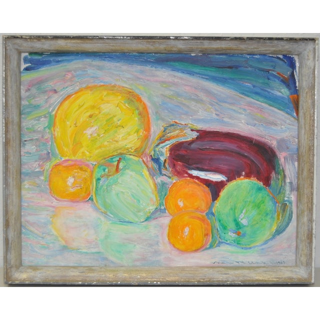Image of Max Pollak (1886–1970) Still Life Painting C.1965