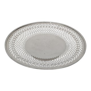 Silver Plated Pedestal Serving Dish