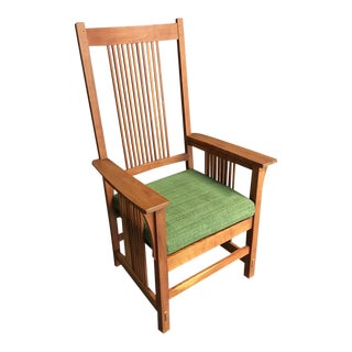 Stickley Spindle High Back Chair