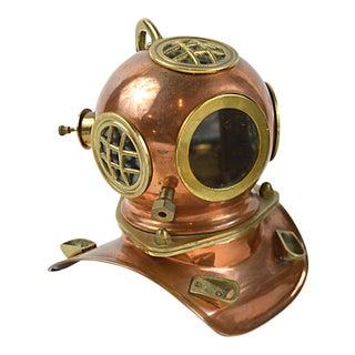Vintage Miniature Deep Sea Diver's Helmet