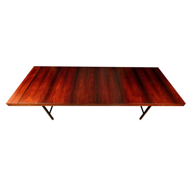 Harvey Probber Brazilian Rosewood Dining Table - Image 9 of 9