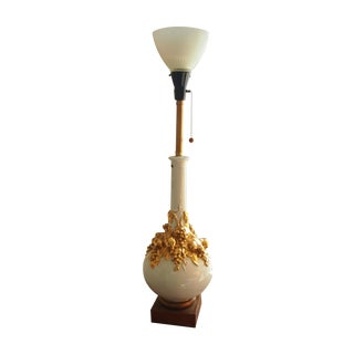Italian Ceramic Marbro Table Lamp