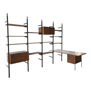 """Omni"" Home Office System / Shelf Unit by George Nelson"