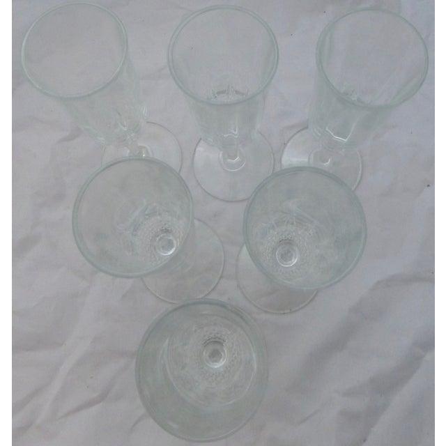 Vintage French Champagne Flutes - Set of 6 - Image 3 of 7
