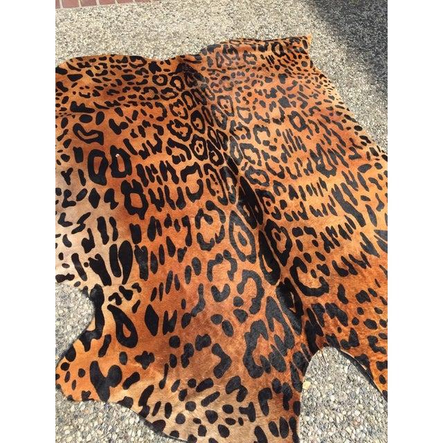 """Image of Jaguar Cowhide Rug - 5'7"""" X 7'1"""""""