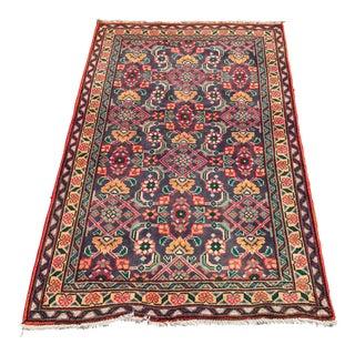 Vintage Persian Lilihan Rug - 3′3″ × 5′