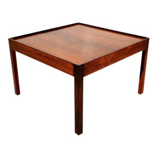 Mid-Century Danish Modern Side Table in Rosewood