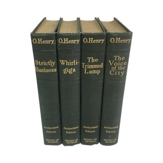 Antique 1900s O. Henry Books - Set of 4