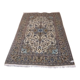 """Persian Kashan Hand Knotted Wool Rug - 6'7"""" x 9'1"""""""