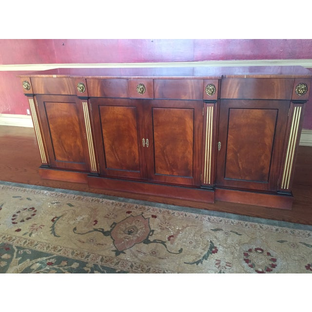 Flame Mahogany Side Cabinet - Image 3 of 10
