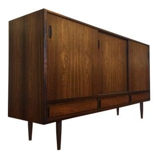 Danish Modern Rosewood Large Sideboard