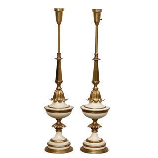 Stiffel Art Deco Table Lamps - A Pair