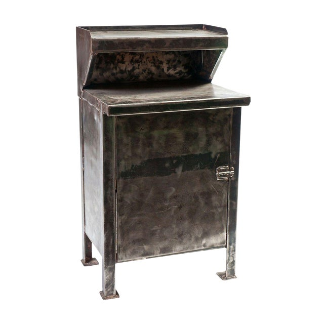 Vintage Metal Cabinet - Image 1 of 3