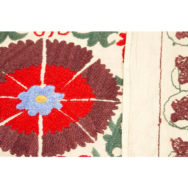 Image of Vintage Pomegranate Suzani Tapestry