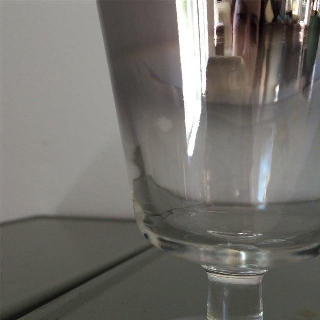 Image of Mid Century Ombré Stemmed Glasses