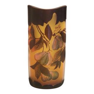 Antique Emile Galle Art Glass Vase