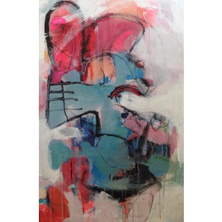 Springboard Stance Abstract Painting