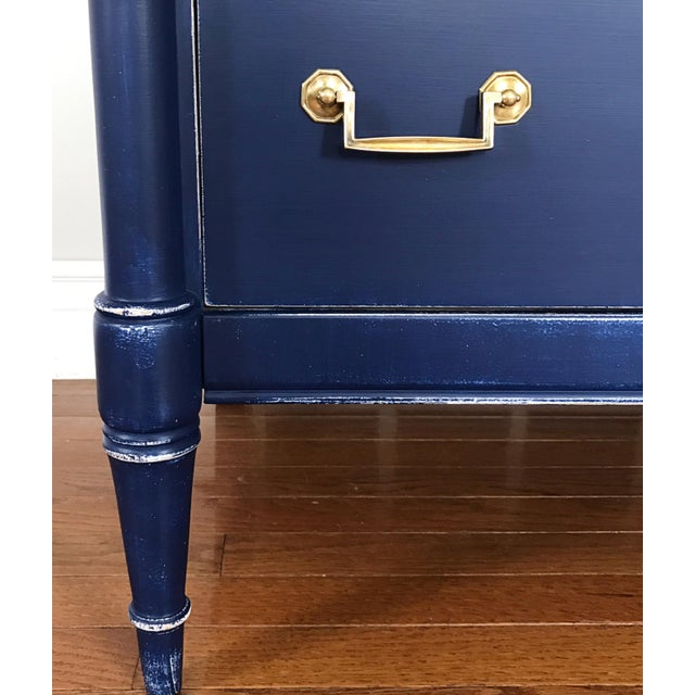 Turquoise & Navy Ombré Dresser - Image 4 of 8