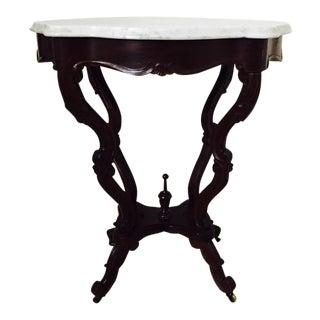 Circa 1890 Marble Top Table