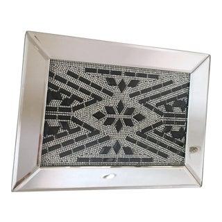 Art Deco Mirrors Crystal Jewelry Box