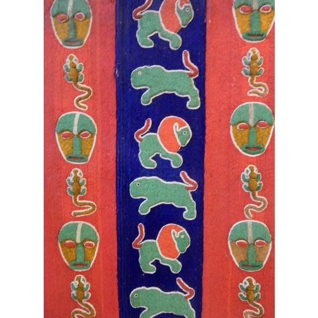 Image of Nigerian Yoruba Beaded Large Panel/Door