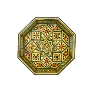 Mother-Of-Pearl Marquetry Tray
