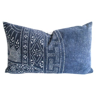 Hill Tribe Indigo Batik Pillow No. 1