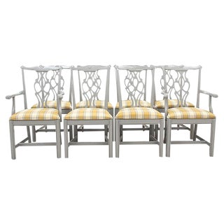 Chippendale Dining Chairs - Set of 8