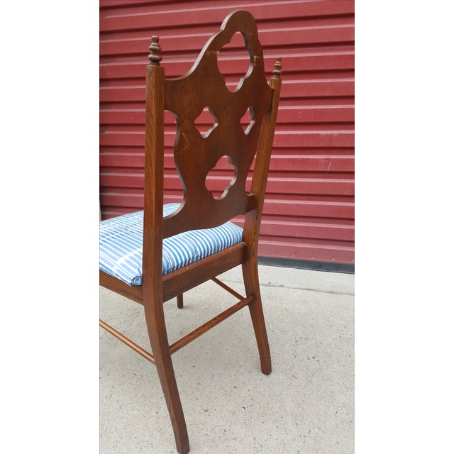 Neoclassical & Gothic Dinning Chairs - Set of 6 - Image 4 of 5
