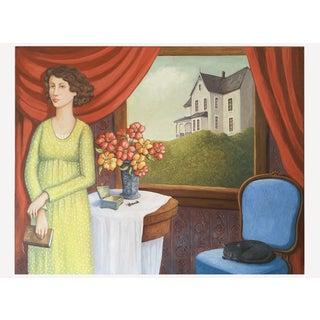 June Parrish Cookson Original Casein Painting