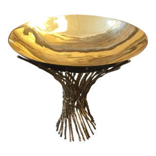 Contemporary Bowl on Twig Stand