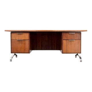 Rosewood Desk from Imperial Desk Company, 1960s, USA
