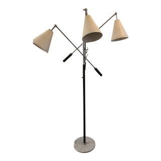Mid-Century Modern Triennale Floor Lamp by Gino Sarfatti for Arredoluce