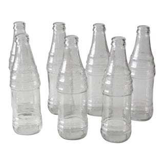 Vintage Soda Bottles - Set of 7