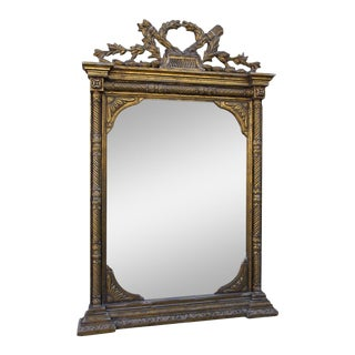 Grand French Giltwood Mirror