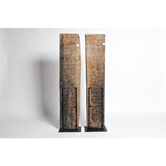 Carved Wooden Door Panel on Stands - Image 3 of 11